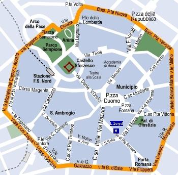 Fil Franck Tours 4 Stars Hotels In Milan Hotel Lloyd